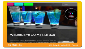 gqmobilebar-website-design